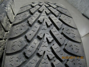 Goodyear 205 70 R15 Nordic Winter Tires Great Tread Left