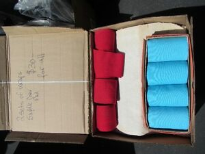 Box containing 2 sets of Wraps, felt pads, etc
