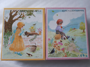 2 childs jigsaw puzzles