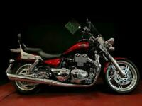TRIUMPH THUNDERBIRD 1600 2013. ONLY 1761 MILES. LOADED WITH EXTRAS. 1 LADY OWNER