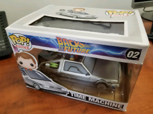 Back to the future. Delorean. Marty mcfly pop