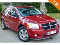 2007 57 DODGE CALIBER 2.0 SXT CRD 5D 139 BHP DIESEL HEATED LEATHER!