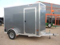 "2015 Mission Trailers MISSION 6X10+12"" WEDGE EZEC-SL DURALITE"