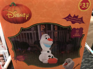 Frozens Olaf Halloween inflatable New ~ Only $10