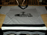 NICE Hockey Jersey HOCKTOBERFEST  XL Extra large Black & White