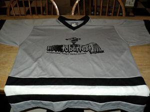 NICE Hockey Jersey HOCKTOBERFEST  XL Extra large Black & White Windsor Region Ontario image 2