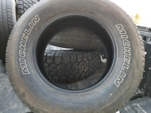 "Michelin LTX M/S2  275x18"" tires"