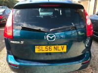 Mazda5 2.0D Diesel 7 Seater Blue WARRANTY 12 MONTHS MOT SERVICE HISTORY