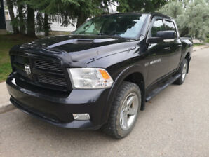 REDUCED!!! Black Dodge Ram Sport... MOVING MUST SELL!!!!
