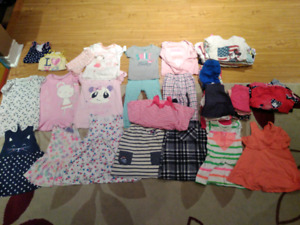 2T - 3T Girls Summer Clothing Clothes