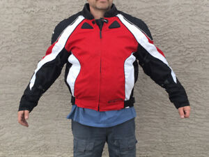 Motorcycle Jacket - Armour Protected -Insulated