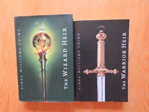 The Warrior Heir and The Wizard Heir by Cinda Williams Chima