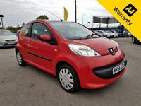 2006 PEUGEOT 107 1.0 URBAN 3D 68 BHP! P/X WELCOME! 42K MILES!! FULL SRVC HISTRY!