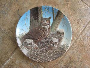 Collector's Plates – The Stately Owls