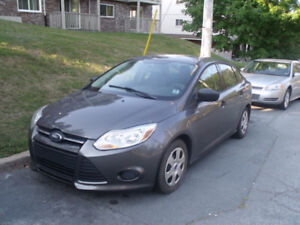 2012 FORD FOCUS with 2 year mvi.