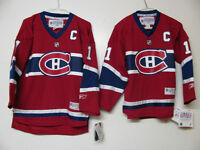MONTREAL CANADIENS YOUTH 4-7 S/M L/XL HOCKEY JERSEY NEW/OFFICIAL