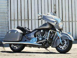 2017 Indian Motorcycle Chieftain Silver Smoke
