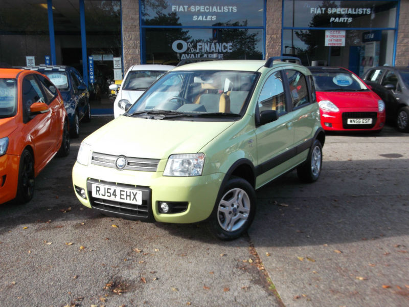 2005 54 fiat panda 4x4 lime green 1 2 5dr in chesterfield derbyshire gumtree. Black Bedroom Furniture Sets. Home Design Ideas