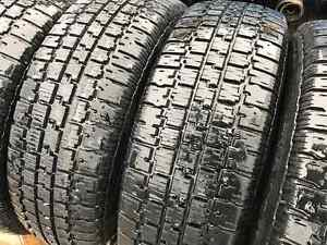 4*195/70R14 - Winter Tires + Rims with GOOD CONDITION! West Island Greater Montréal image 3