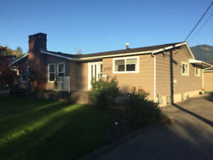 Agassiz house for rent - 3 bedroom + 2 bathrooms