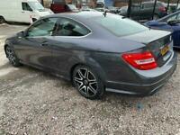 2012 Mercedes-Benz C-CLASS 2.1 C250 CDI BLUEEFFICIENCY AMG SPORT PLUS 2d 202 BHP