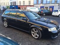 RS6 91000 mileage full service history