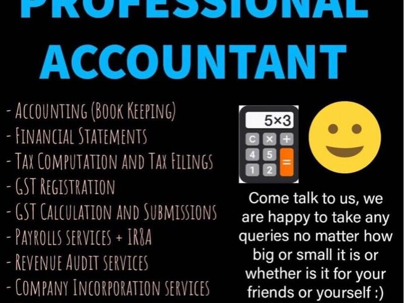 Accounting / Tax / Financial Statement