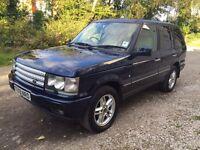 2001 Range Rover Vogue 4.6 V8 Auto Blue BRC LPG conversion bargain