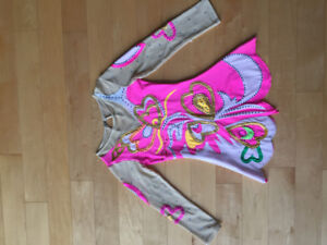 ROBE PATINAGE ARTISTIQUE 8-10 ANS