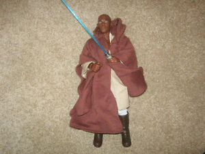STAR WARS 12 Inch MACE WINDU Action Figure by Hasbro Strathcona County Edmonton Area image 1