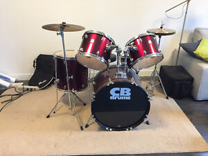 CB Red Drum Set For Sale