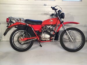 1977 CT 125 HONDA MOTORCYCLE