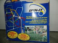 An outdoor Game!  Spin-it
