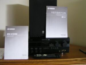 Yamaha Amp,Subwoofer and corner cabinet Kawartha Lakes Peterborough Area image 3