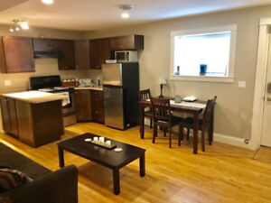 Fully Renovated Furnished Suite, Laundry, Utilities Included