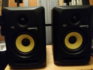 KRK Rokit 5 Powered Studio Monitors