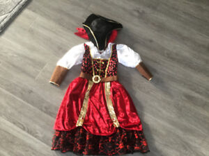 Costume de pirate pour fille GR: 5-6