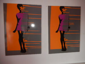 2 cadres IKEA style Andy Warhol