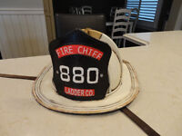 Cool Reproduction 1940's Tin Toys Fireman Hat for Home Decor use