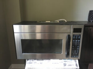 LG STAINLESS OVER THE RANGE MICROWAVE