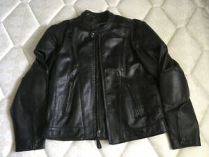 Mens Leather Riding Jacket