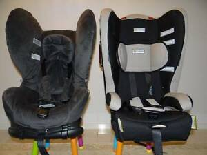 Two childrens Car seats. Drouin Baw Baw Area Preview