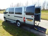 2011 11 Renault Master 2.5 Dci Automatic 32k WHEELCHAIR ACCESSIBLE VEHICLE WAV