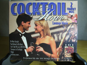 Cocktail Hour Lounge Music - 2 CD's ,NEW in wrap Oakville / Halton Region Toronto (GTA) image 1