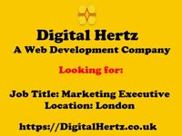 Marketing Executive Needed for a Web Development Company