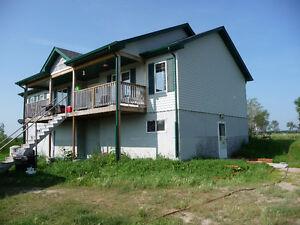 GULL LAKE AREA-61 ACRE HOBBY FARM, 5 BEDROOM HOME,BARN,POND,ETC