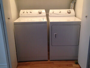 Maytag Ensignia Washer and Dryernia Washer and Dryer
