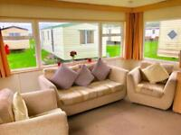 3 bed (sleeps 8) caravan with free standing furniture & heated throughout
