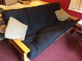 Hardly used Triple Sofa bed