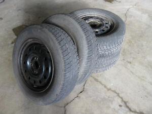 All Season Tires & Rim Set
